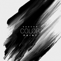 Black Color Paint Stain Background