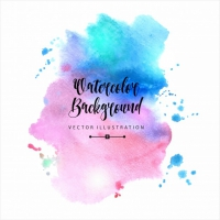 Beautiful Abstract Watercolor Background