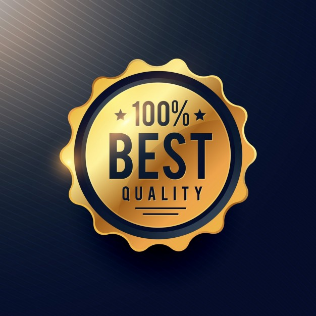 Golden Seal For Premium Products