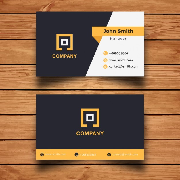Modern Corporate Business Card Design