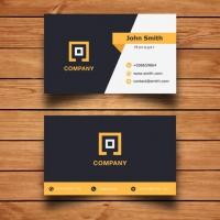 Modern Corporate Business Card Design