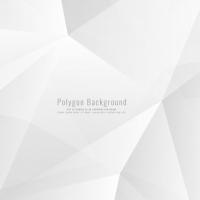 Light Grey Polygonal Background