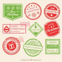 Christmas Stamp Collection