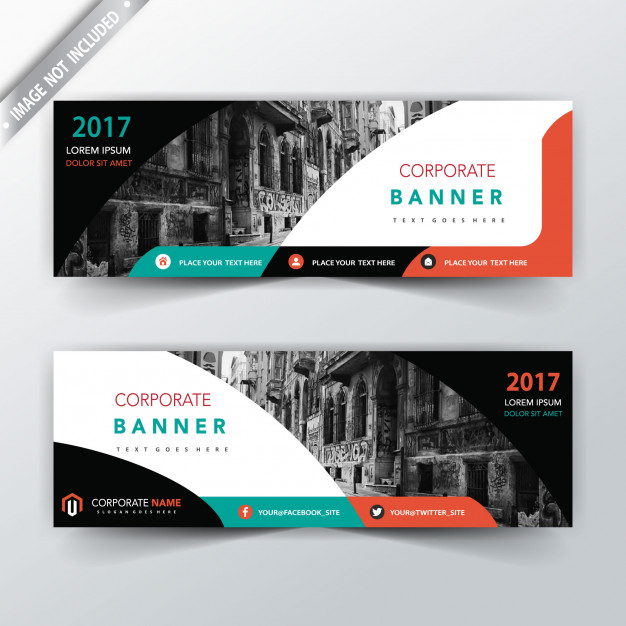 Modern Two Sided Banner Design