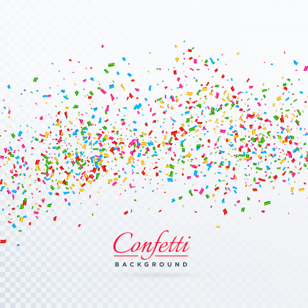 Confetti Burst Background