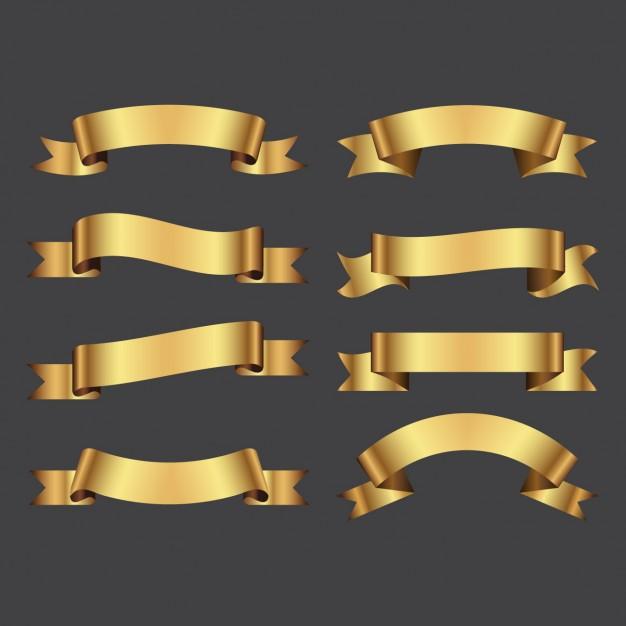 Golden Ribbons Pack