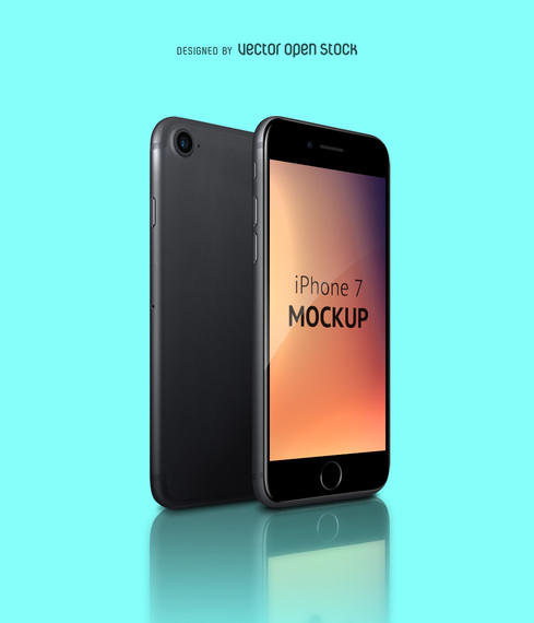 New Iphone 7 Mockup