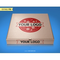Pizza Packaging Mockup