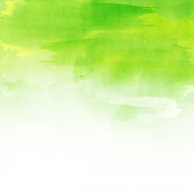 Green Watercolor Background Design