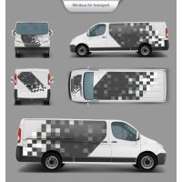 White Minivan Top