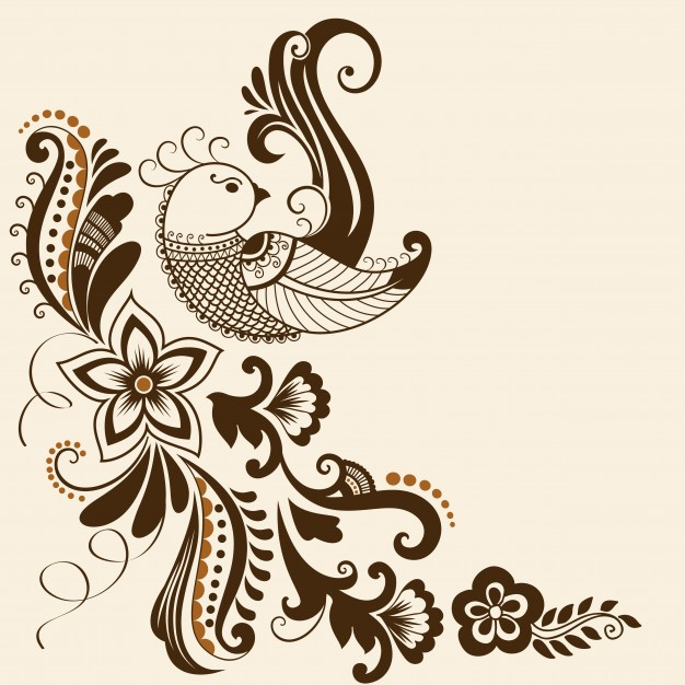 Vector Illustration Of Mehndi Ornament