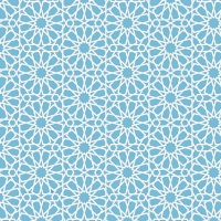 Vector Abstract Geometric Islamic Background
