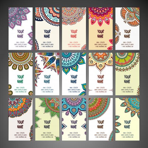 Cards With Mandalas