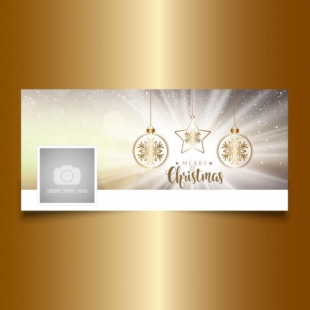 Christmas Timeline Cover Design