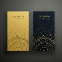 Premium Mandala Cards