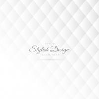 Stylish White Pattern With Rhombus
