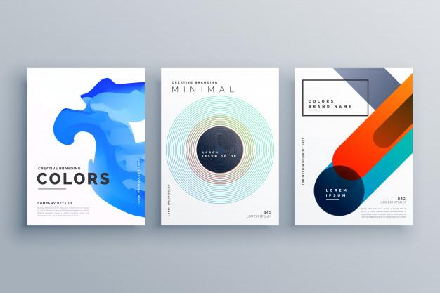 Abstract Creative Business Brochure Vector