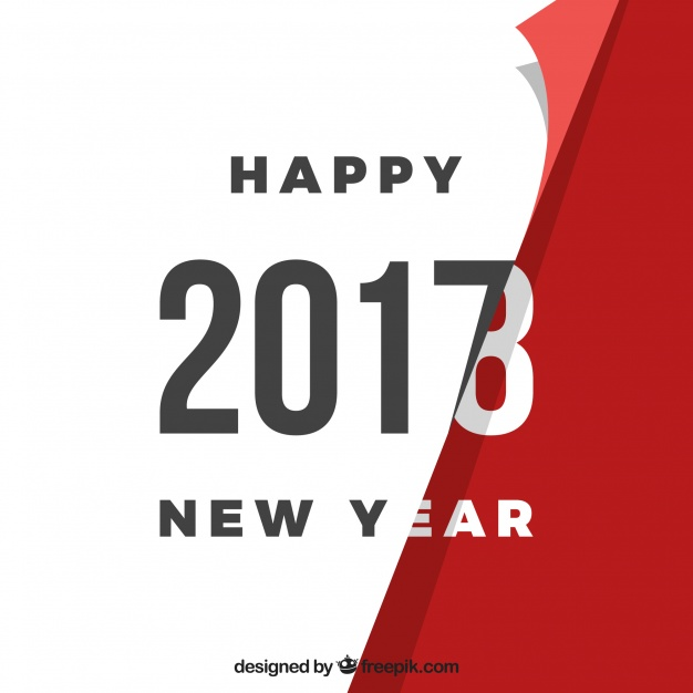 Turning The Page - New Year Background