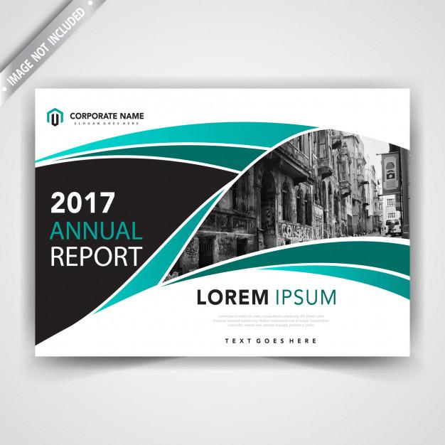 Stylish Horizontal Leaflet Template