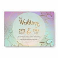 Luxury Wedding Invitation With Mandala