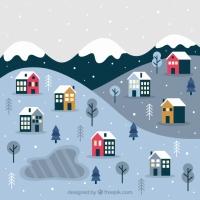 Small Christmas Town