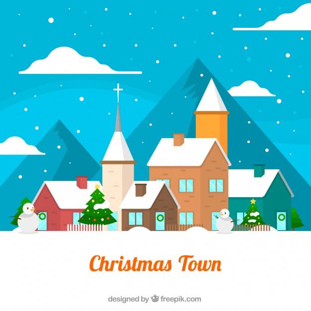 Landscape Of Christmas City