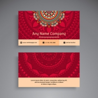 Business Card / Vintage Decorative Elements