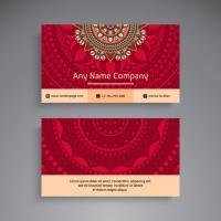 Business Card / Vintage Decorative Elements