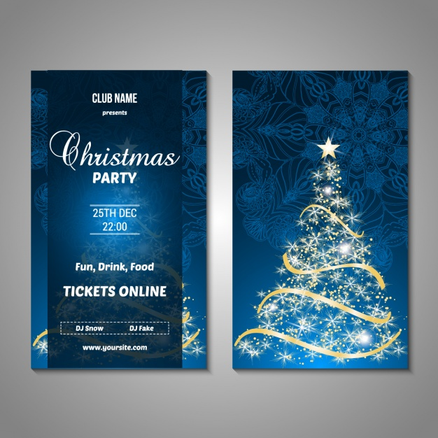 Christmas Party Poster Design