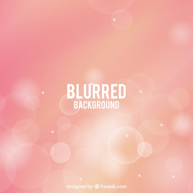 Blurred Pink Background