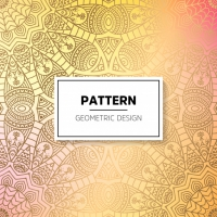 Indian Floral Luxury Ornament Pattern