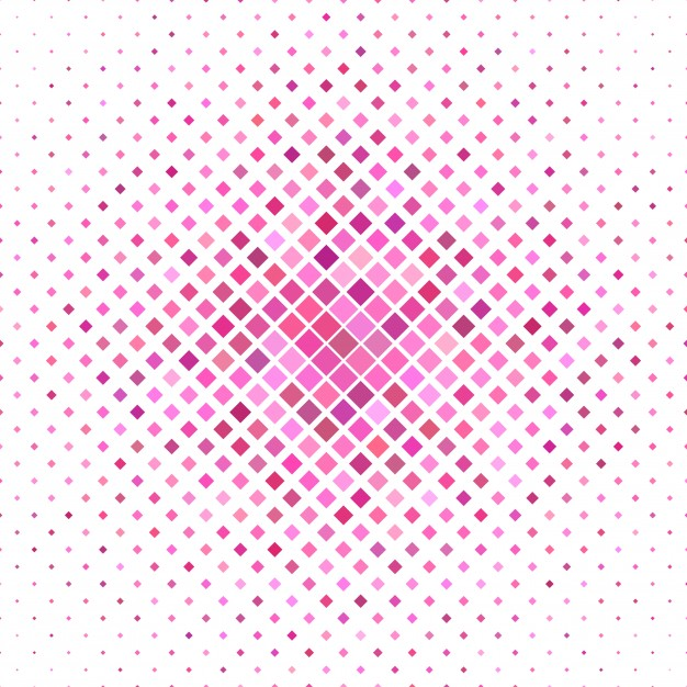 Colored Square Pattern Background
