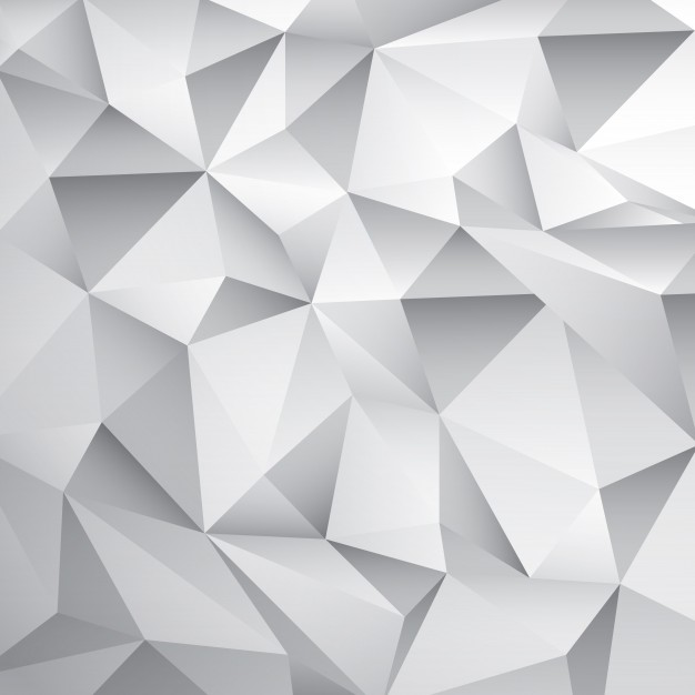 Abstract White Poly Background