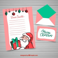 Santa Claus Christmas Letter Template