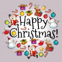 Happy Christmas Сard