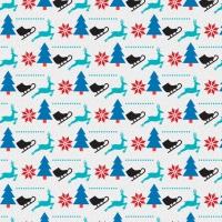 Chrismas Pattern Background Desgin