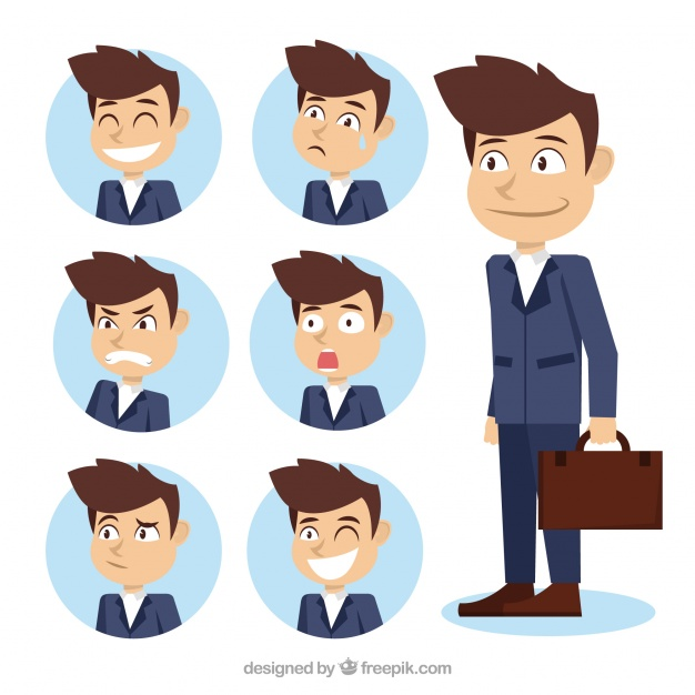 Assortment Of Businessman Character