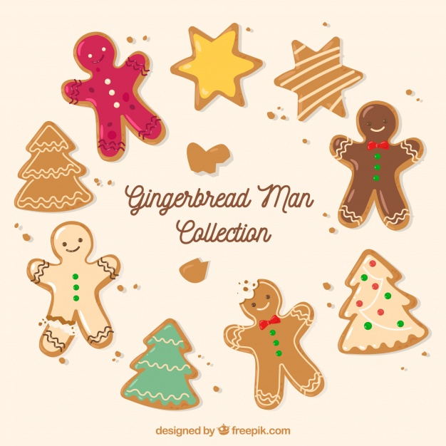 Pack Of Nice And Delicious Gingerbread Cookies
