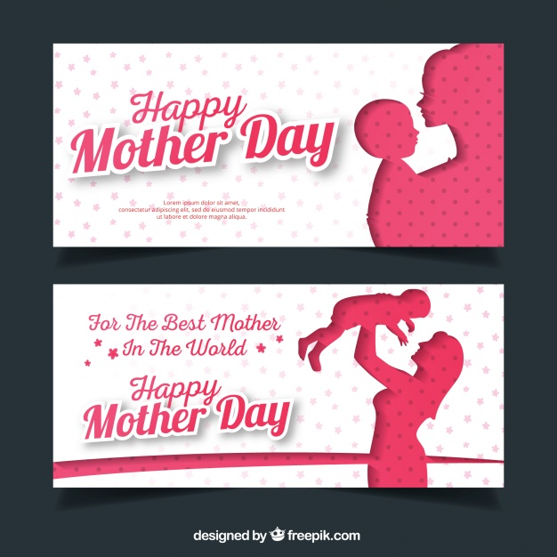 Fantastic Mother's Day Banners