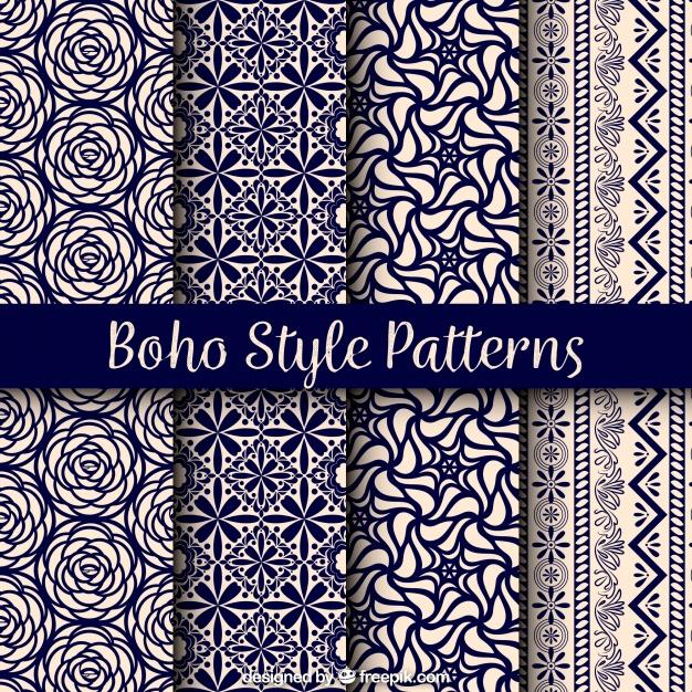 Variety Of Boho Patterns