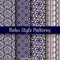 Variety Of Boho Patterns