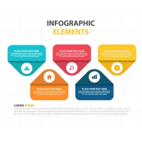 Infographic Template With Five Infographic