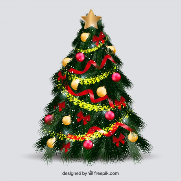 Beautiful Decorated Christmas Tree