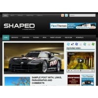 Shaped WordPress Template