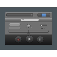 Garageband Styled UI Elements