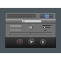 Garageband Styled UI Elements