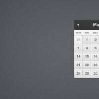 Pretty Little Calendar (PSD)