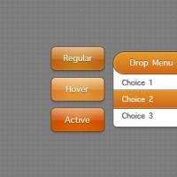 Orange Interactive Elements