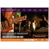 Church Website Layout
