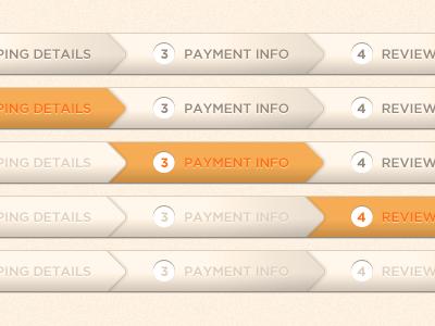 Ecommerce Checkout Progress Bar